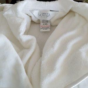 La Senza Cotton Terry Robe NWOT